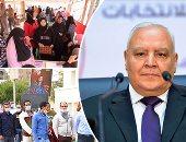 المستشار لاشين إبراهيم رئيس الهيئة الوطنية - انتخابات