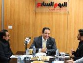 النائب علاء عابد رئيس لجنة حقوق الانسان بمجلس النواب بندوة اليوم السابع