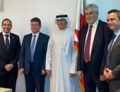 وزير الصناعة البحرينى يجرى مباحثات مع وفد إسرائيلى