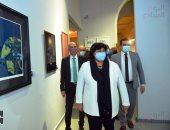 وزيرة الثقافة تفتتح متحف الفن الحديث