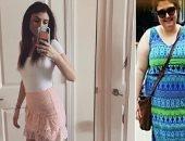 تايلور قبل وبعد فقدان الوزن