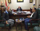 المهندس محمد السيد رئيس شركة القناة لتوزيع الكهرباء