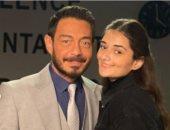 أحمد زاهر وابنته ملك