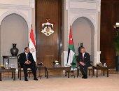 الرئيس السيسى والملك عبد الله الثانى