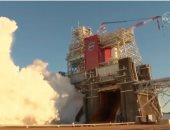 اختبار صاروخ ناسا