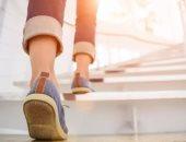 صعود السلالم