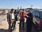 محافظ أسيوط يتفقد أعمال تنفيذ مشروع كوبرى منقباد العلوي