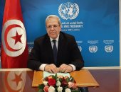 وزير الخارجيه التونسى  عثمان الجرندي