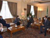 أبو الغيط يستقبل المبعوثة الأوروبية لعملية السلام