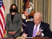 الرئيس الأمريكى جو بايدن  ونائبته كامالا هاريس