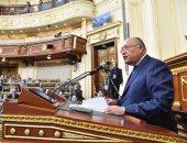 وزير الخارجية بالجلسة العامة