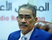 ضياء رشوان نقيب الصحفيين و رئيس هيئة الاستعلامات