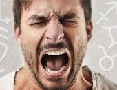 رجل غاضب