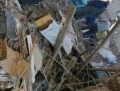 انهيار جزئي بمسجد بسوهاج