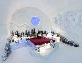 فندق الثلج بكندا