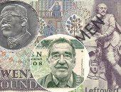 أدباء على العملات النقدية