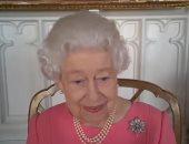 الملكة اليزابيث فى آخر ظهور لها