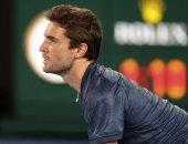 لاعب التنس الفرنسي المخضرم جيل سيمون