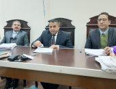 المستشار سامى عبد الحليم غنيم رئيس محكمة جنايات الزقازيق