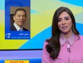 هانى الناظر والمذيعة أسماء مصطفى