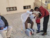 فرق تطعيم حملة شلل الأطفال