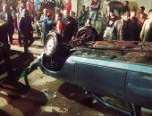 حادث سقوط سيارة بنهر النيل فى أسيوط