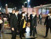 اللواء عادل الغضبان محافظ بورسعيد والدكتورة إيناس عبد الدايم وزير الثقافة