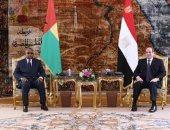 الرئيس عبد الفتاح السيسى والرئيس عمر سيسوكو إمبالو رئيس جمهورية غينيا بيساو