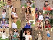الأطفال بملابس خاصة لرمضان