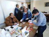 إجراء تحليل المخدرات لموظفى حى شرق بورسعيد