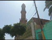 مئذنة مسجد العتيق بالمنيا