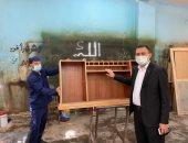محرر اليوم السابع في ورش سجون برج العرب