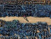 تكدس الدراجات في الصين