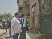 نائب محافظ القاهرة يتفقد المراحل النهائية لتشغيل السوق
