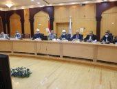 اجتماع مجلس جامعة الازهر