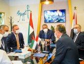 اجتماعات مكثفة للوزير خلال مشاركته في سوق السفر العربي