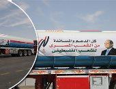 المساعدات المصرية تصل غزة