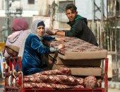 معاناة أهالى فلسطين تحت القصف الإسرائيلى