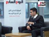 لقاء شبيه محمد عادل إمام مع تليفزيون اليوم السابع