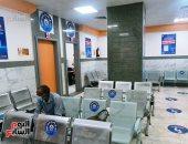 مراكز تلقى لقاح فيروس كورونا بمستشفى بنى سويف التخصصى