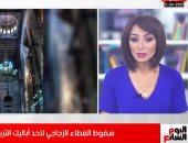 تغطية مسجد الرفاعى بتلفزيون اليوم السابع
