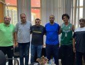 يوسف سعيد لاعب فريق كرة السلة