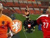 هولندا ضد النمسا