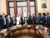 وزير الزراعة و أعضاء تنسيقية شباب الأحزاب