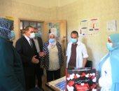 محافظ كفر الشيخ بتفقد المركز الطبي