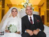 زفاف حازم حسين وسهيلة فوزى