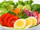 تناول الخضراوات مع البيض للحصول على حمض الفوليك