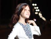 الطفلة رودينا نور الدين قبل تساقط شعرها