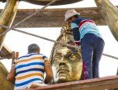 تمثال مدخل قناة السويس ببورسعيد