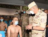الفريق أول محمد زكى القائد العام للقوات المسلحة وزير الدفاع و الإنتاج الحربى
